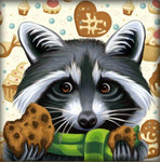 2019 5d Diy Diamond Painting Kits Special Style Raccoon  NA0392