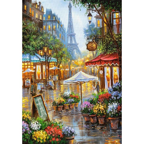 2019 5d Diy Diamond Painting Kits Street Of Paris Eiffel Tower VM59675