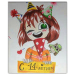 Full Drill Cartoon Clown 5D Diy Embroidery Cross Stitch Diamond Painting Kits NA0010