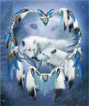 Full Drill Square Wolf 2019 Dream Catcher 5d Diy Diamond Painting Kits VM9094