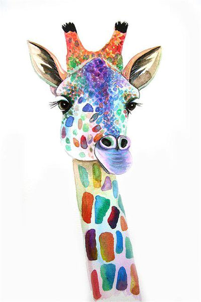 2019 5d Diy Diamond Painting Kits Giraffe  NA0481