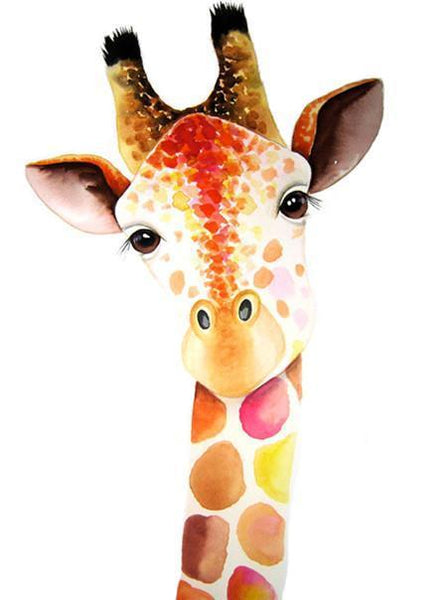 2019 5d Diy Diamond Painting Kits Giraffe NA0482