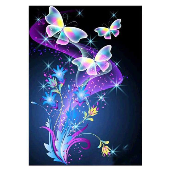 Full Square 2019 Dream Butterfly 5d DIY Diamond Painting Kits VM8197