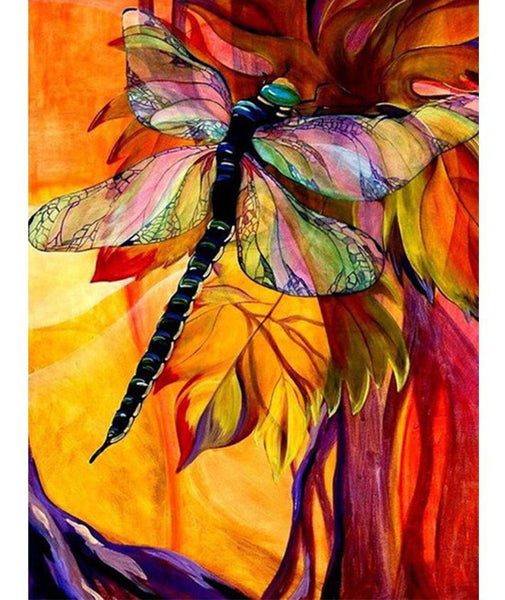 2019 5d Diy Diamond Painting Kits Modern Art Dragonfly VM9816