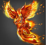 Full Square Dream Phoenix 5D Diy Embroidery Cross Stitch Diamond Painting Kits NA0082