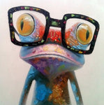 5D Diy Diamond Painting Kits Frog Cartoon NA0136