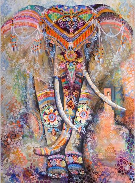 2019 5d Diy Diamond Painting Kits Dream Bedazzled Elephant VM8585