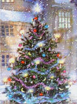 Dream Christmas Tree 5d Diy Embroidery Cross Stitch Diamond Painting Kits NA0396