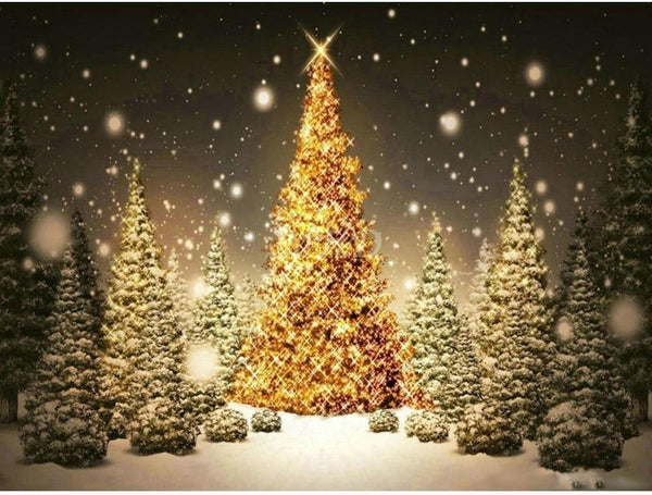 Dream Full Square Drill Christmas Tree 5d Diy Diamond Painting Kits NA0398