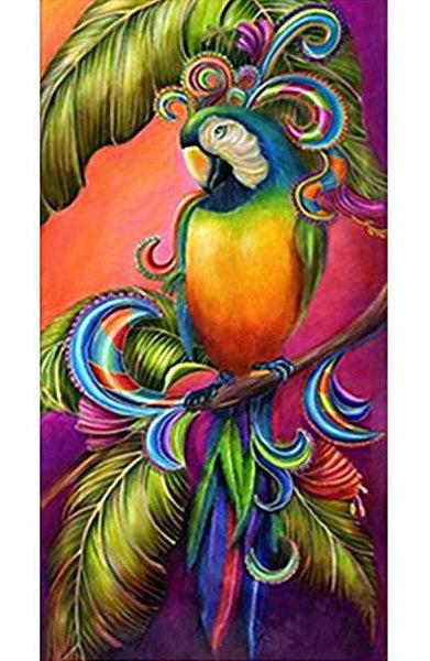 Modern Art Cute Parrot 5D Diy Embroidery Diamond Painting Kits NA0089