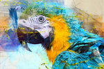 Oil Painting Style Full Square Drill Parrot 5D Diy Diamond Painting Kits NA0090