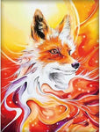 5d Diy Diamond Painting Kits Special Full Square Drill Fox  NA0458