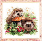 Oil Painting Style Hedgehog 5D Diy Cross Stitch Diamond Painting Kits NA00348