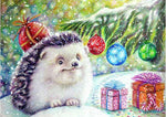 5D Diy Diamond Painting Kits Hedgehog NA0354