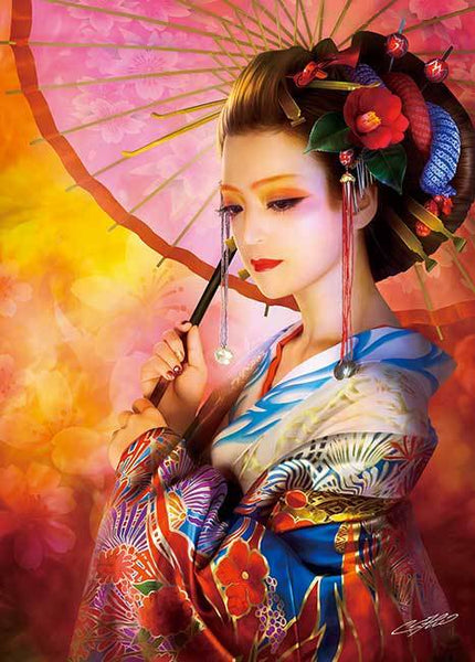 2019  5d DIY Diamond Painting Kits Japanese Woman VM20245