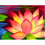 5D Diy Diamond Painting Kits Special Full Square Drill Lotus NA0141