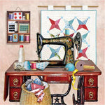 2019 5d Diamond Painting Set Sewing Machine Pattern VM1109