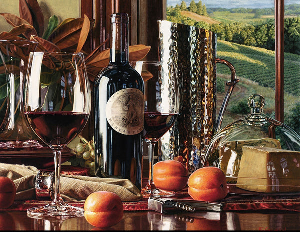 2019 5D DIY Diamond Painting Cross Stitch Kits Wine Pattern VM9988