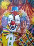 Oil Painting Style Clown 5D Diy Cross Stitch Diamond Painting Kits NA0003