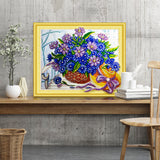 Half Drill Flower Diamond Painting Kits HD90003