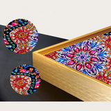 Half Drill Mandala Diamond Painting Kits HD90023