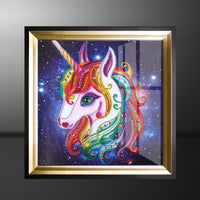 Half Drill Unicorn Diamond Painting Kits HD90031