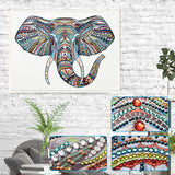 Half Drill Elephant Diamond Painting Kits HD90068