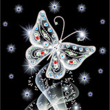 Half Drill Butterfly Diamond Painting Kits HD90069
