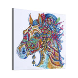 Half Drill Horse Diamond Painting Kits HD90075
