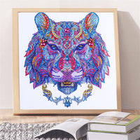 Half Drill Wolf Diamond Painting Kits HD90078