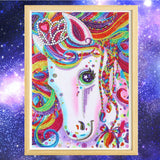 Half Drill Horse Diamond Painting Kits HD90110