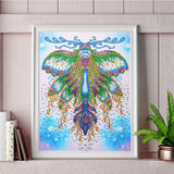 Half Drill Butterfly Diamond Painting Kits HD90111