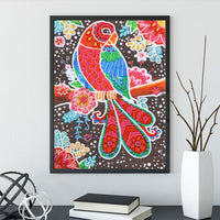 Half Drill Parrot Diamond Painting Kits HD90121