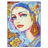 Half Drill Beauty Diamond Painting Kits HD90128