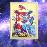 Half Drill Owl Diamond Painting Kits HD90133