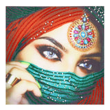 Half Drill Beauty Diamond Painting Kits HD90146