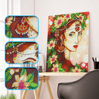 Half Drill Beauty Diamond Painting Kits HD90148