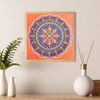 Half Drill Mandala Diamond Painting Kits HD90155