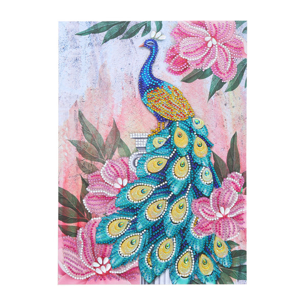 Half Drill Peacock Diamond Painting Kits HD90158
