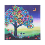 Half Drill Tree Diamond Painting Kits HD90160