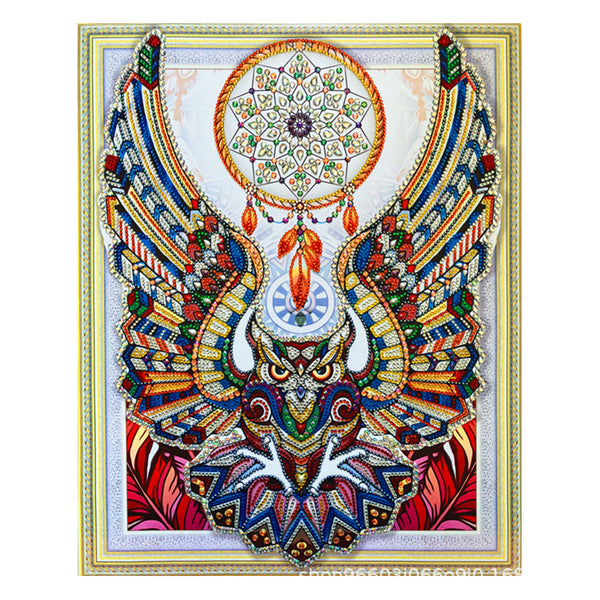 Half Drill Eagle Diamond Painting Kits HD90165