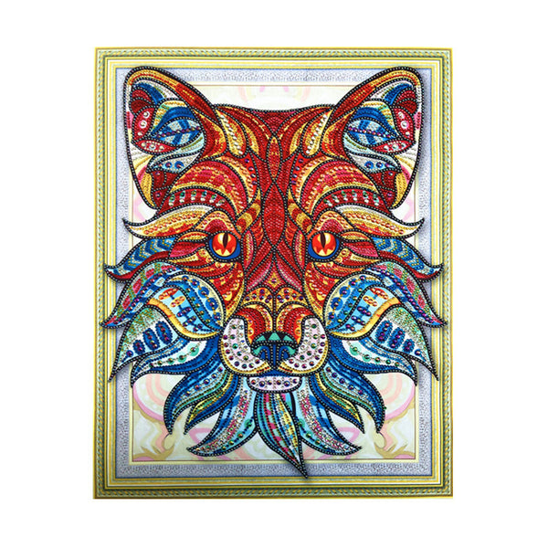 Half Drill Wolf Diamond Painting Kits HD90170