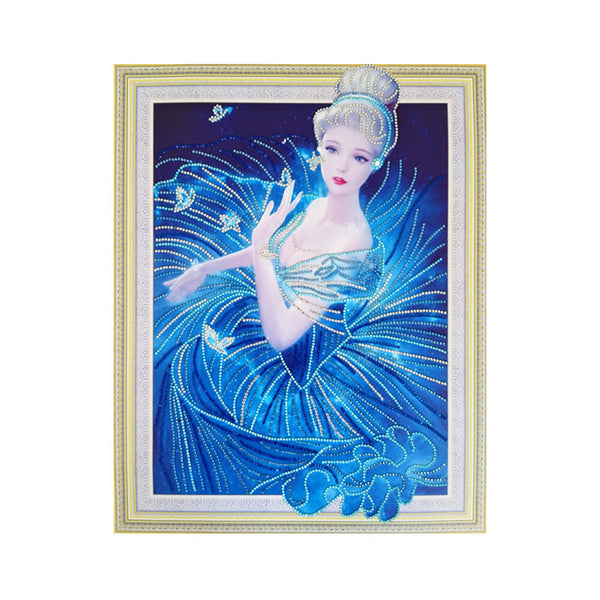 Half Drill Beauty Diamond Painting Kits HD90171