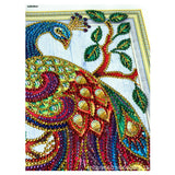 Half Drill Peacock Diamond Painting Kits HD90175