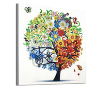 Half Drill Tree Diamond Painting Kits HD90181
