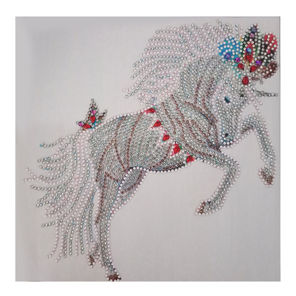 Half Drill Horse Diamond Painting Kits HD90196