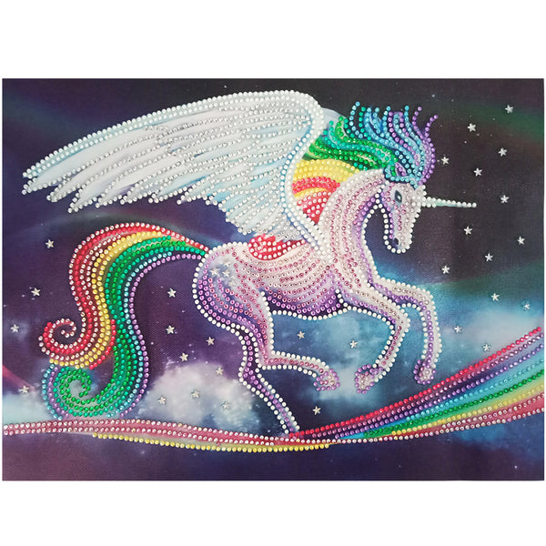 Half Drill Unicorn Diamond Painting Kits HD90197