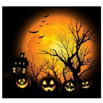New Arrival Halloween Pumpkin 5d Diy Cross Stitch Diamond Painting Kits VM8731