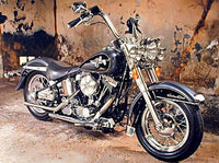 Hot Sale Harley Motorcycle 5D DIY Cross Stitch Diamond Painting Kits NA0739