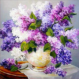 5d Diy Diamond Painting Kits Special Pink And Lavender Flower VM3565 (1766998999130)